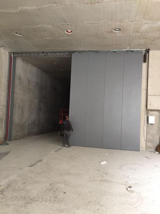 branddeur voor grote openingen