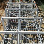 Een metalen constructie voor Elia in Mortsel