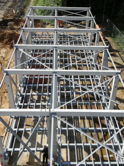 Une construction métallique pour Elia à Mortsel