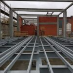 ICOMET plaatste een stevige metalen constructie voor Elia in Zurenborg