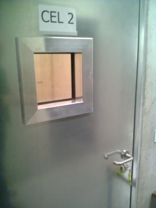 Les portes de prison