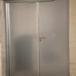 Een stalen brand-en inbraakwerende deur voor shoppingcentrum Imber