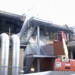 Industriële en technische metaalconstructies