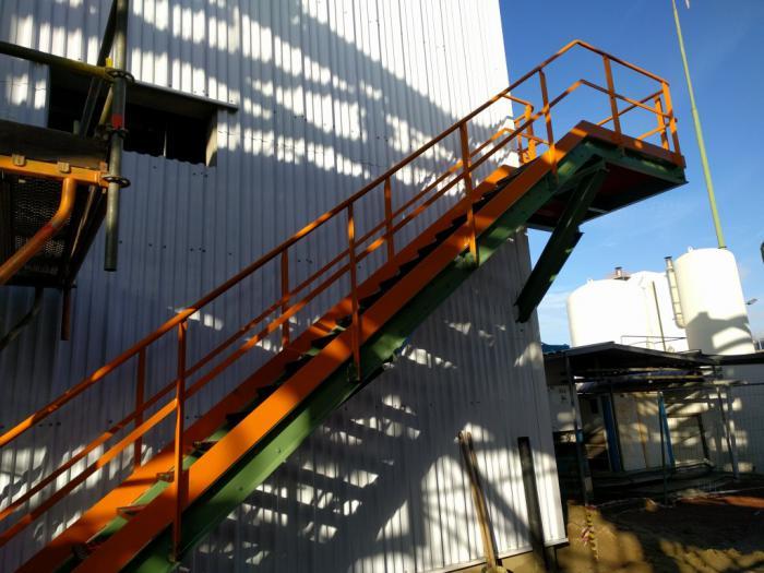 Des escaliers en fer