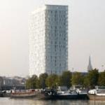 De parktoren in Antwerpen