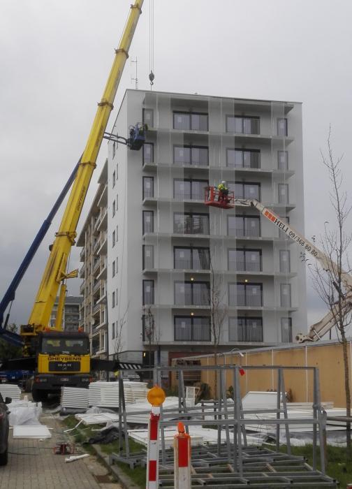 Rénovation d'une tour d'habitation