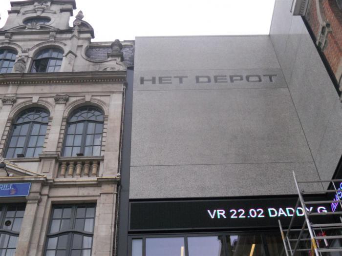 Le Depot à Louvain