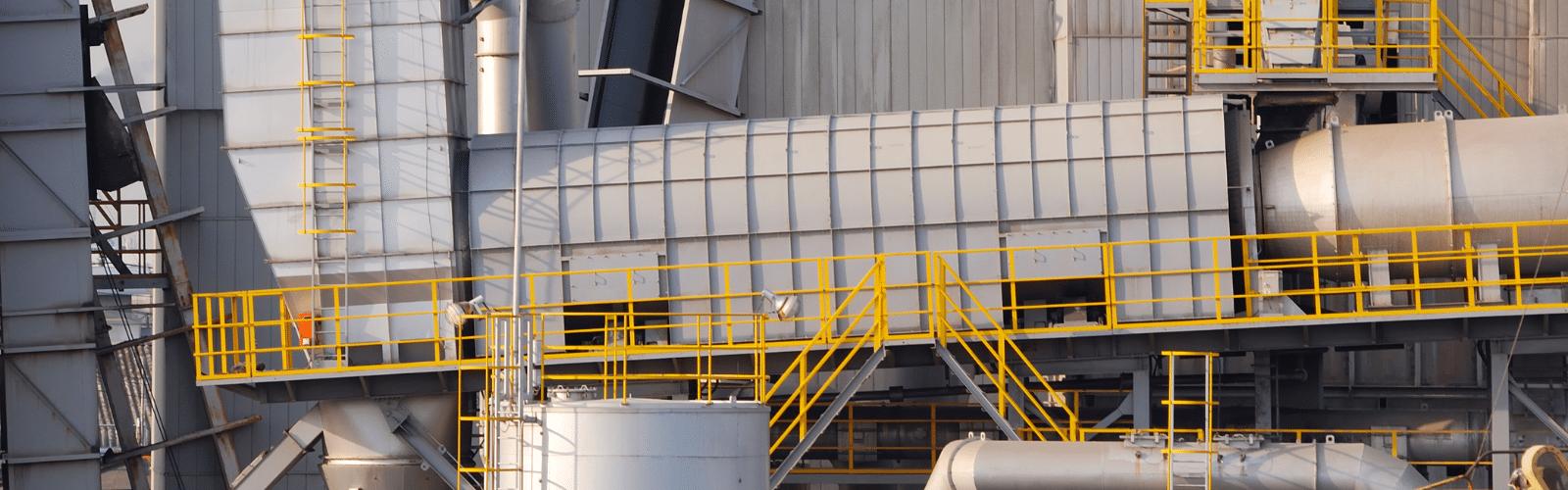 industriële balustrades, borstweringen en handgrepen