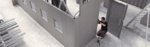 Modulaire beveiligde lokalen en wanden
